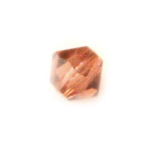 Swarovski 4mm Bicone bead Colorado Topaz 5301/245
