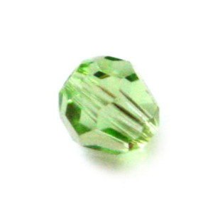 6mm round bead, peridot