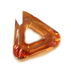 20mm Cosmic Triangle Crystal Copper 4737/001