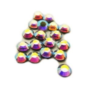 SS6 Swarovski crystal hot fix AB, 1.9-2.0mm diameter