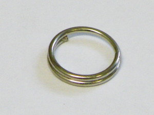 Pack of 20 Splitring 7mm OD, Bright Silver Colour