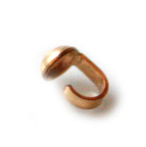 14k Gold bead tip