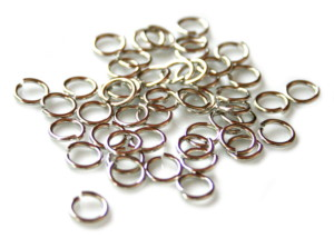 50 x Jumpring, nickel and lead free. 0.7x7mm