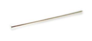 925 Silver Headpin 0.4mm x 25mm.