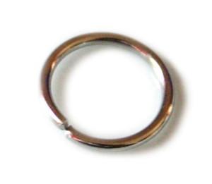 20x Jumpring, nickel free, 12mm diameter, 1.7mm thick, gun metal colour-0