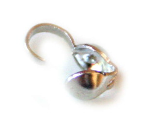 Bead tip in in gunmetal colour, when closed it wil be 4mm-0