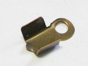 10 bronze end crimp for strings 4mm wide