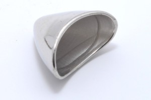 Bead cap in acrylic 19mm-0