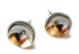 10x Earring pair, 10mm cup -0