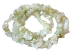 New jade chip string 80cm