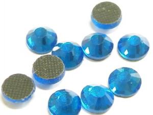 144 hotfix rhinestones, ss30, royal blue 6.4mm