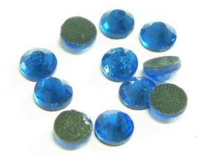 144 hotfix rhinestones, ss34, royal blue 7.5mm