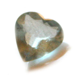 2.7ct Aquamarine heart shaped cutstone
