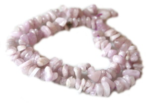 Kunzite chip string 40 cm long-0