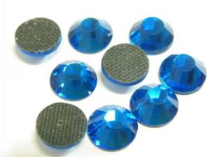 144 Hotfix Rhinestones, 4.8mm, Royal Blue