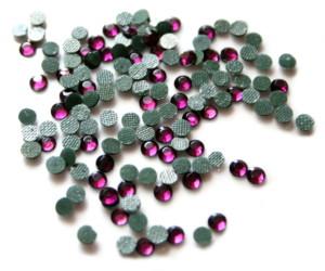 144 Hotfix Rhinestones, 4mm, Amethyst-0