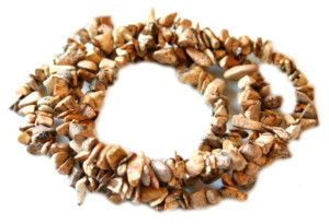 Picture stone chip string, 80cm