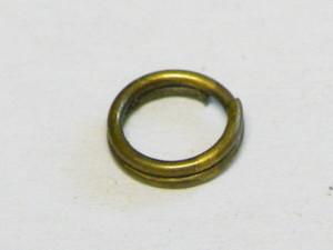 Packet of 10 Splitrings, Bronze Color, 7mm OD, 5.7mm ID