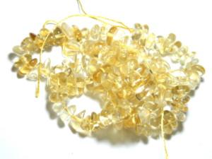 Citrine Chip string, A grade, 80cm