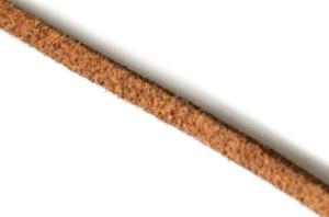Light brown felt string 3mm, 1 meter