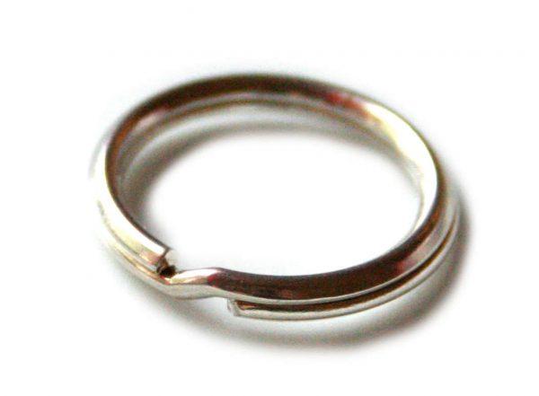 Key ring in 925 Silver 20mm