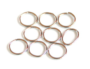 10 x Nickel free o-ring, 1x10mm