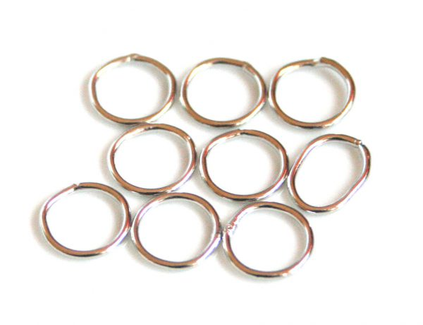 10 x Nickel free o-ring, 1x10mm
