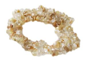 Rutilated quartz chip string, 40cm
