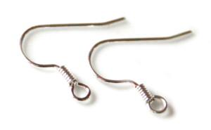 10 x Shepherds hook earring pair. Nickel and lead free.
