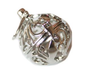 Nickel free locket pendant, 25mm