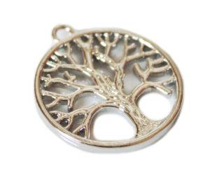 Nickel free Tree-of-Life pendant, 27mm