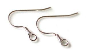 10 x Shepherds hook earring pair