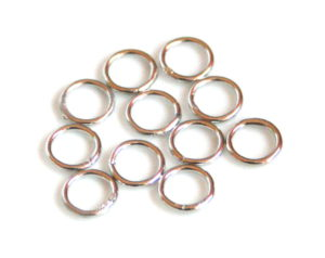 10 x Nickel free o-ring, 0.8x5mm
