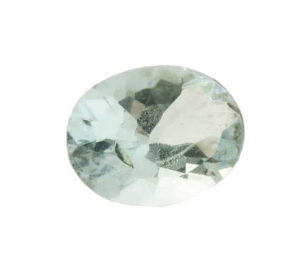 Aquamarine, oval cut, 0.665ct, 5x7mm