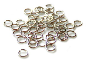 50 x Nickel free jumpring, 0.8x7mm