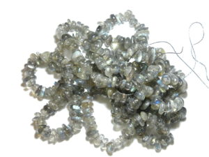 Labradorite A grade chip string 80cm