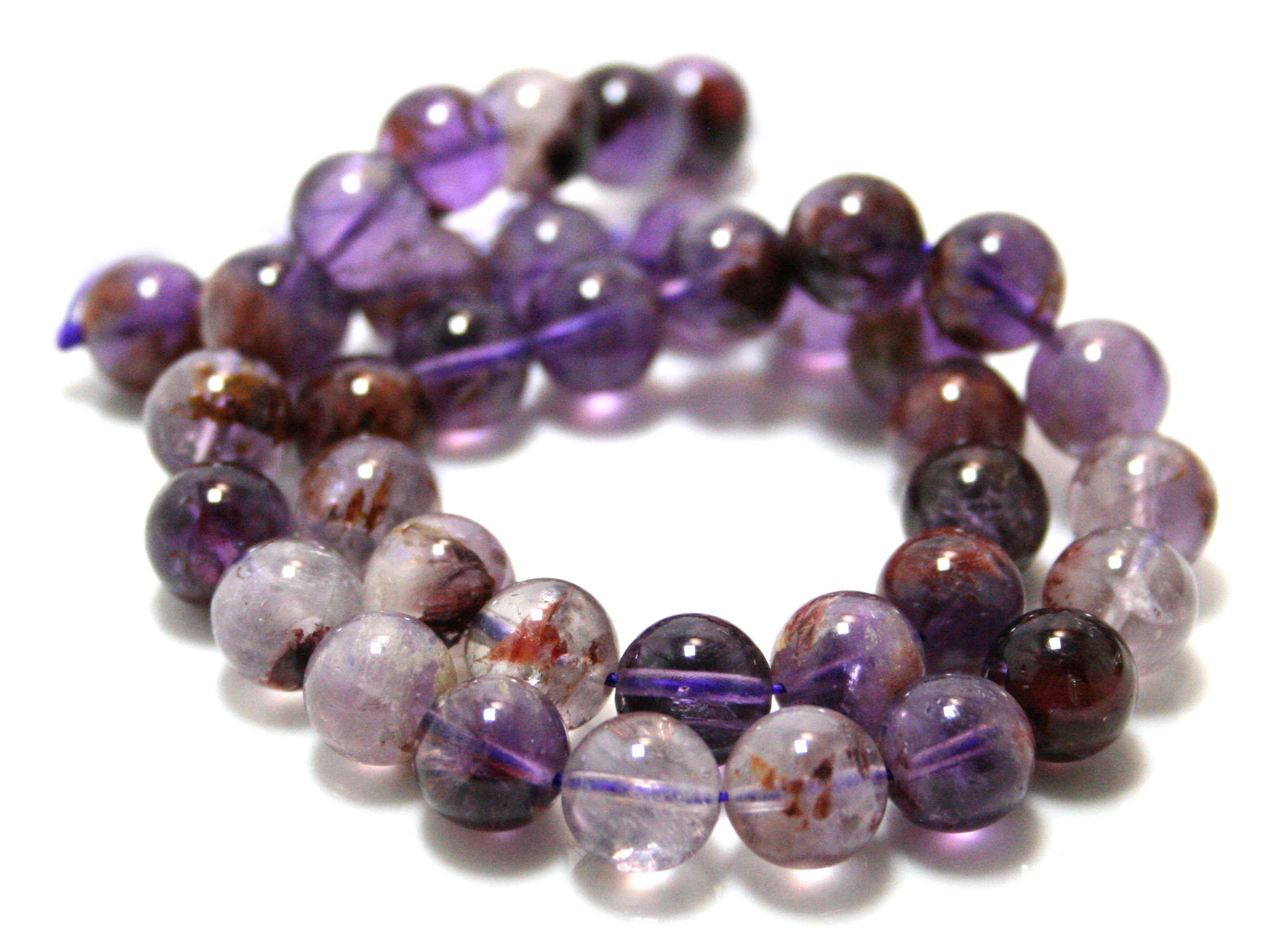 Cacoxenite bead string, 10mm, 40cm
